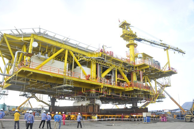 PET – ALE has performed successful load out of Diamond topside